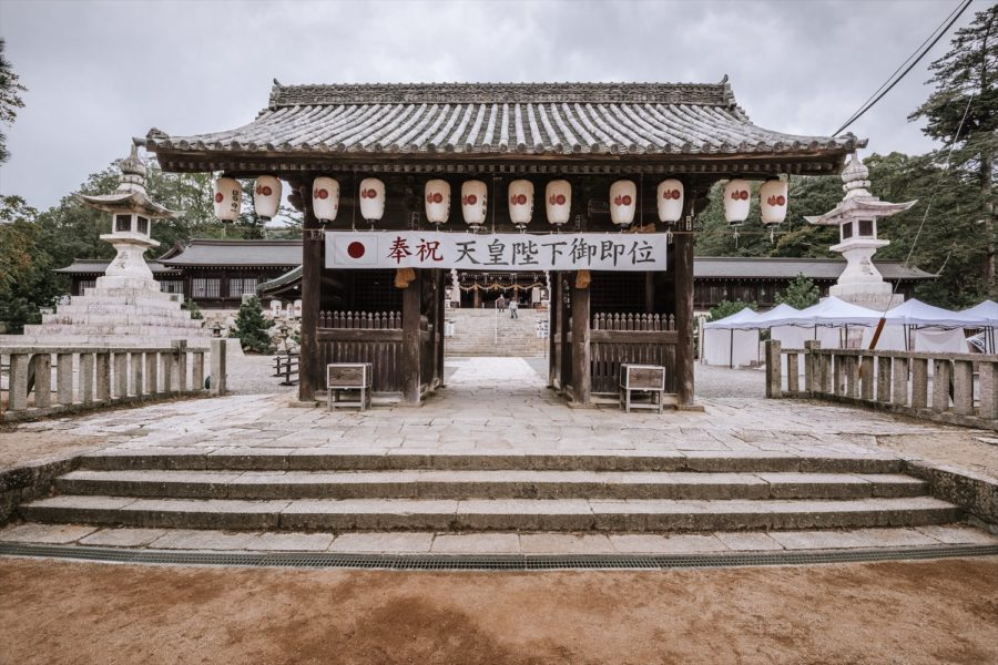 張家維-4-吉備津彥神社-大門