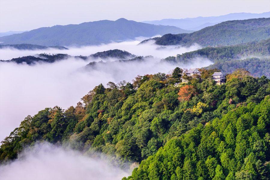 吳文心-36-備中松山城展望台-天空之城