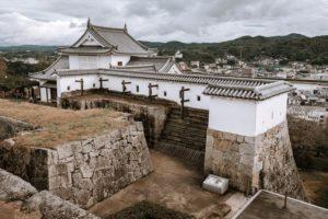 張家維-28-津山-津山城跡備中櫓近景