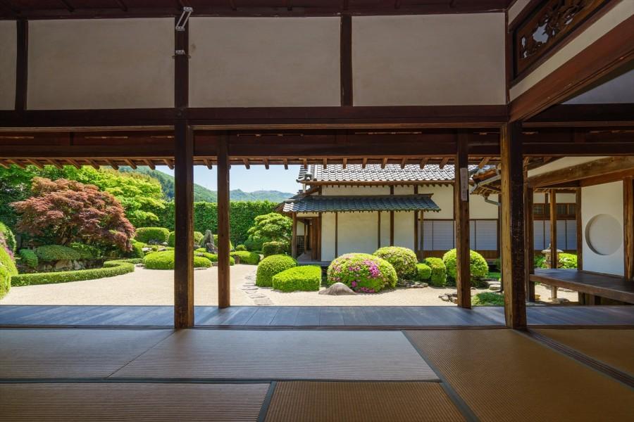 32.頼久寺庭園3