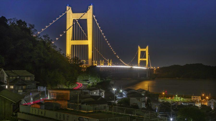張永東_50-鷲羽山觀景台-瀨戶大橋與漁村