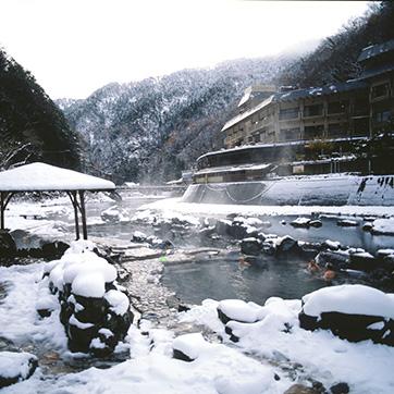 7.湯原温泉(雪)