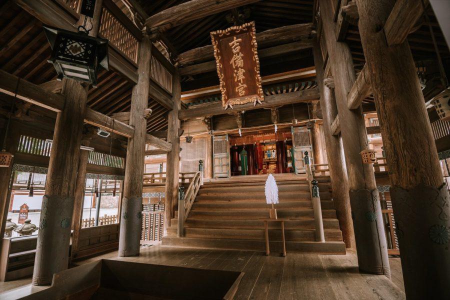 張家維-9-吉備津神社-大殿內部