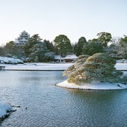 1.岡山後楽園(雪)