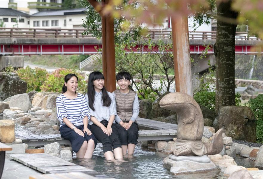 ★張永東_45-湯原溫泉-露天享受足湯