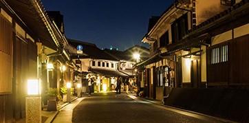 4.倉敷美観地区(夜間照明)