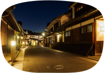 倉敷美観地区夜間景観照明