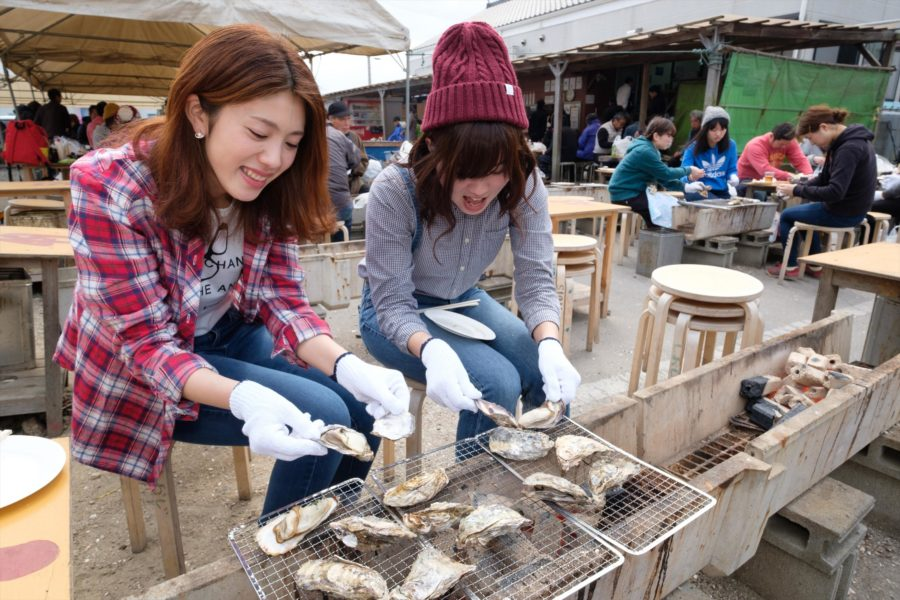 02 Hinase Kaki Matsuri (Oyster Festival)