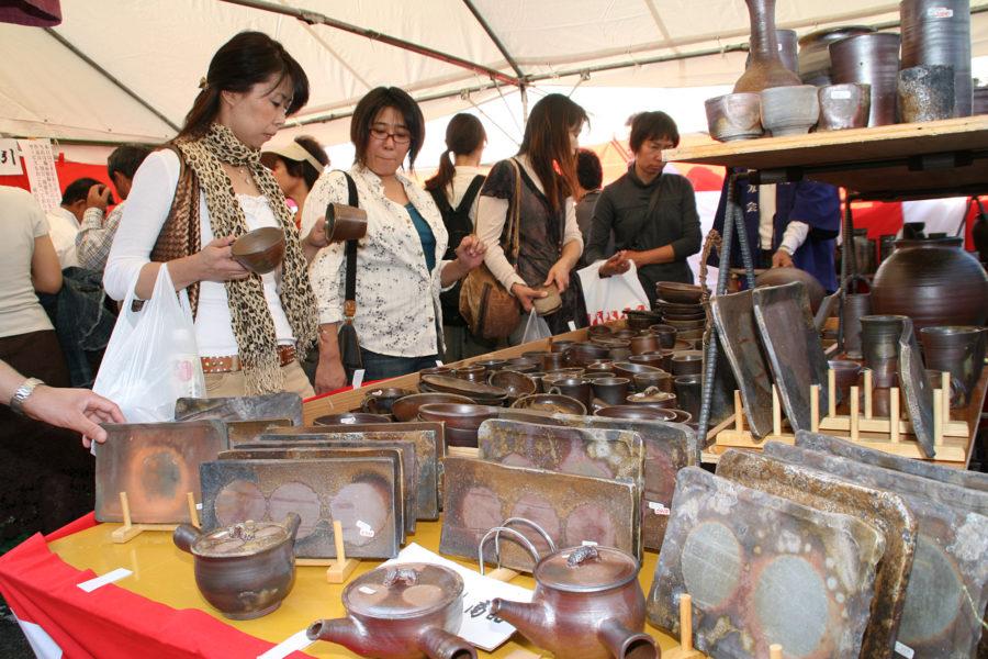 10 Bizen Pottery Festival1
